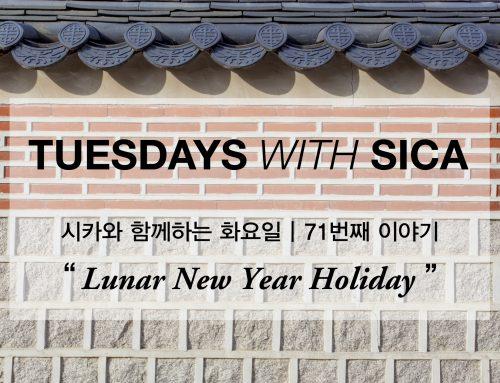 SICA와 함께 하는 화요일 – 71번째 이야기