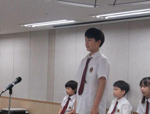 [2019.05.31] Speech Meet 1st prize winner GS5 김진서(Joshua)